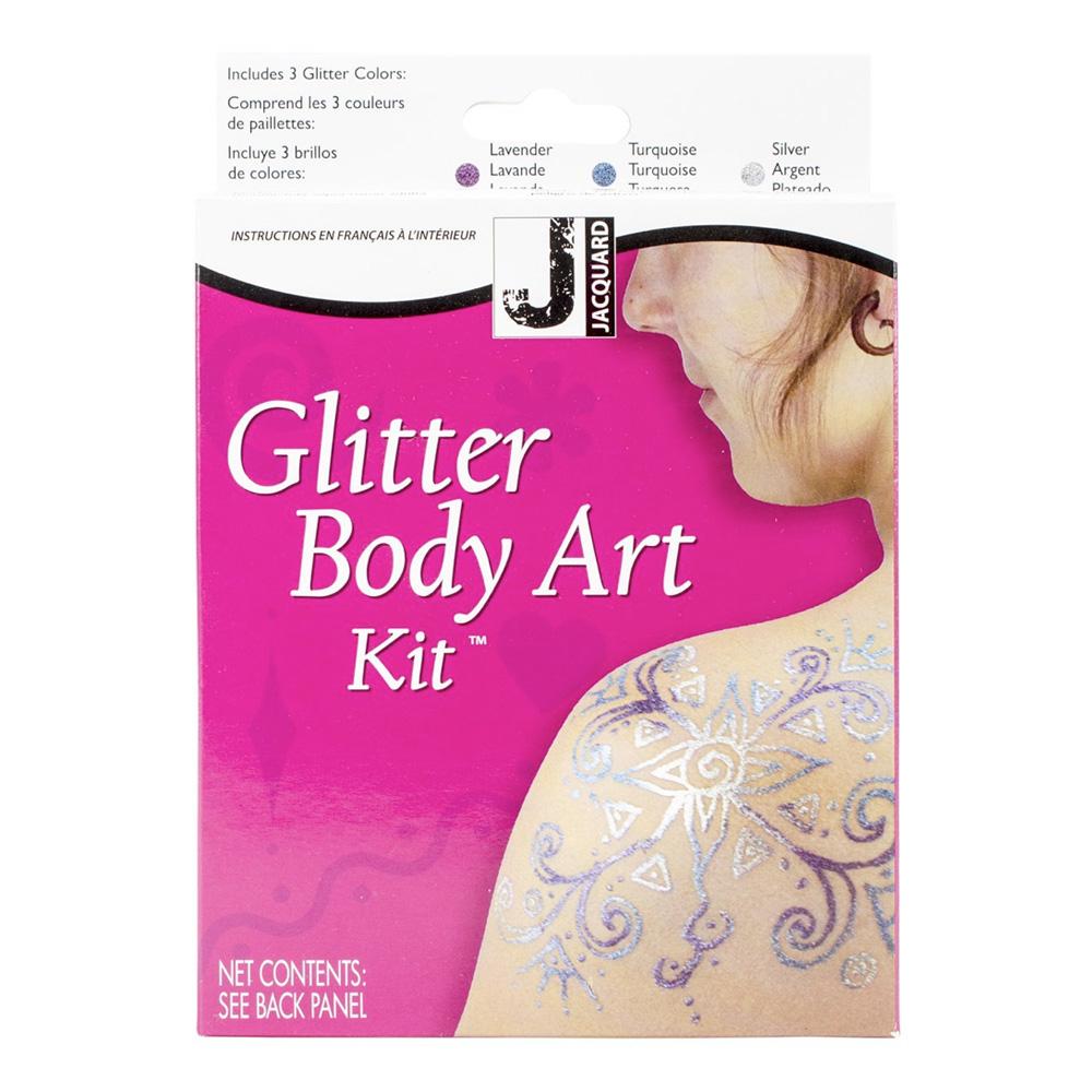 BUY Jacquard Mehndi Henna Glitter Tattoo Kit