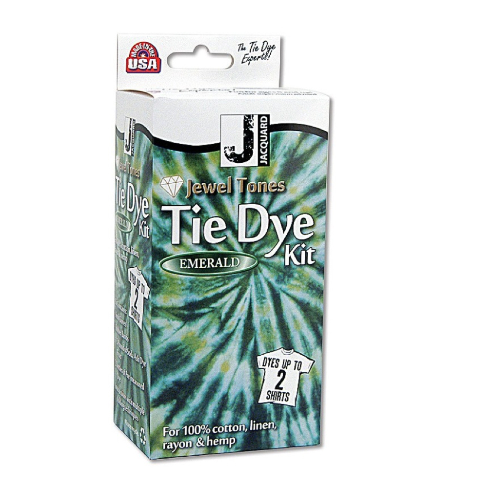 Jacquard Jewel Tone Tie Dye Kit Emerald