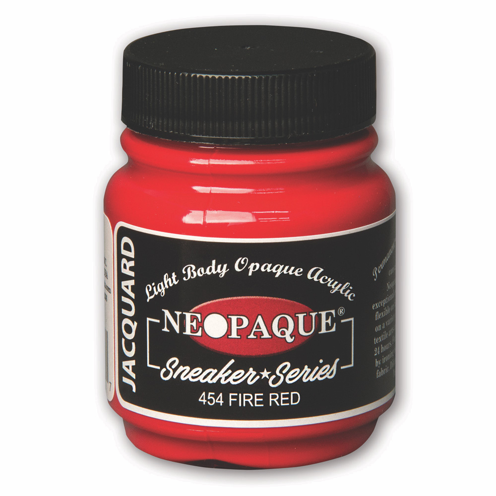 Jacquard Neopaque 2.25 Oz Fire Red