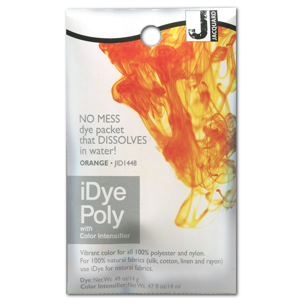 Jacquard Idye Poly: Orange