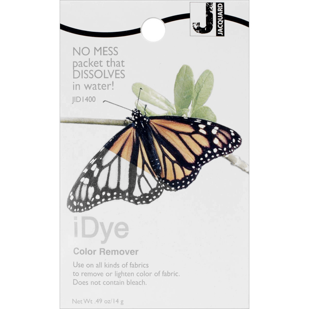 Jacquard Idye Natl Fabric: Color Remover