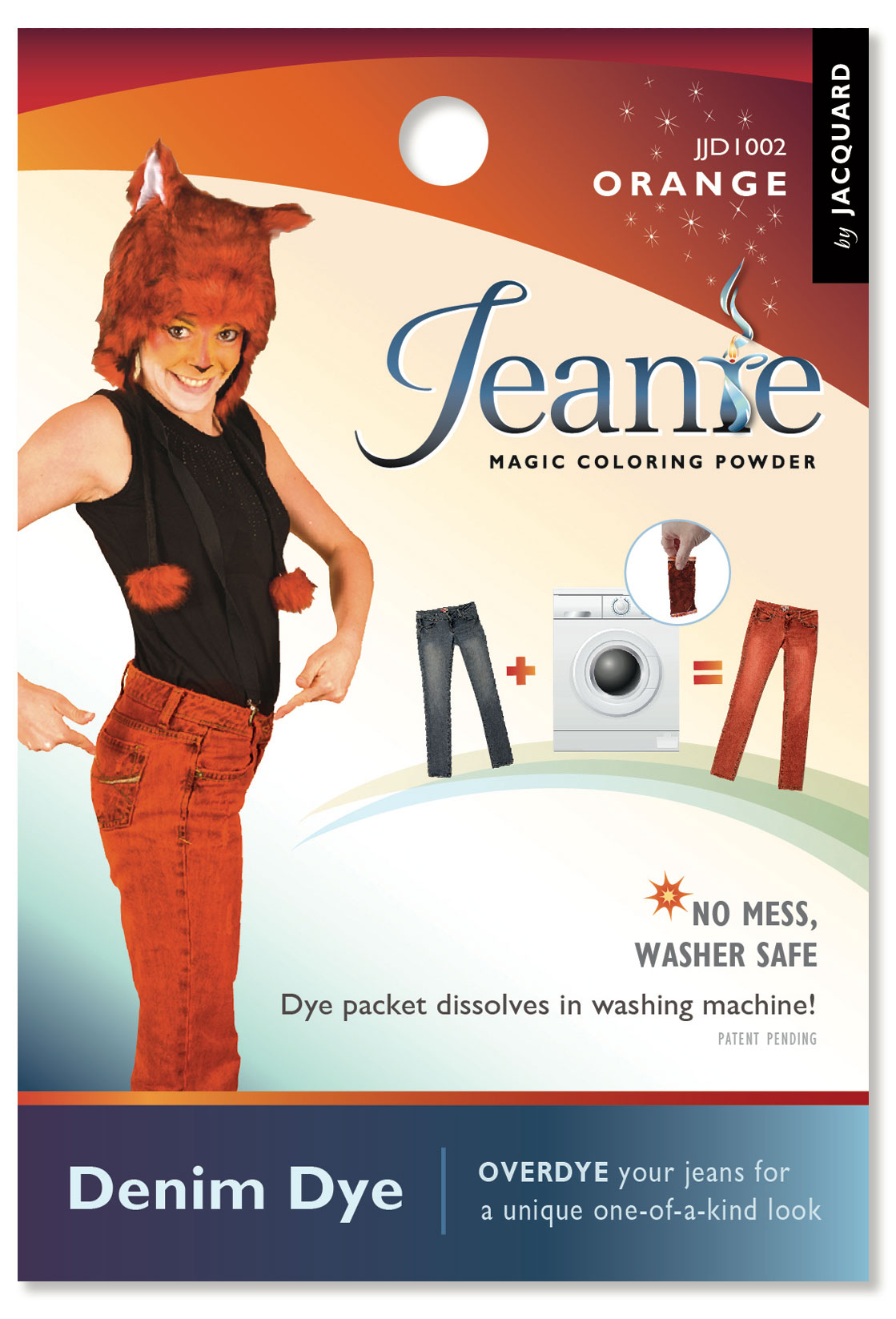 Jacquard Jeanie Dye: Orange