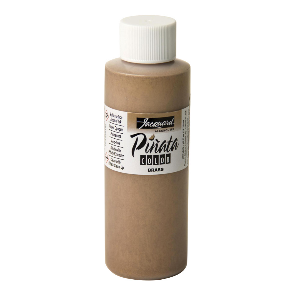 Pinata Alcohol Ink Metallic Brass 4 Oz