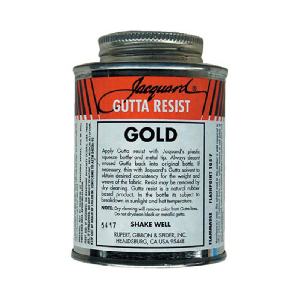 Jacquard Gutta Resist 4 Oz. Gold