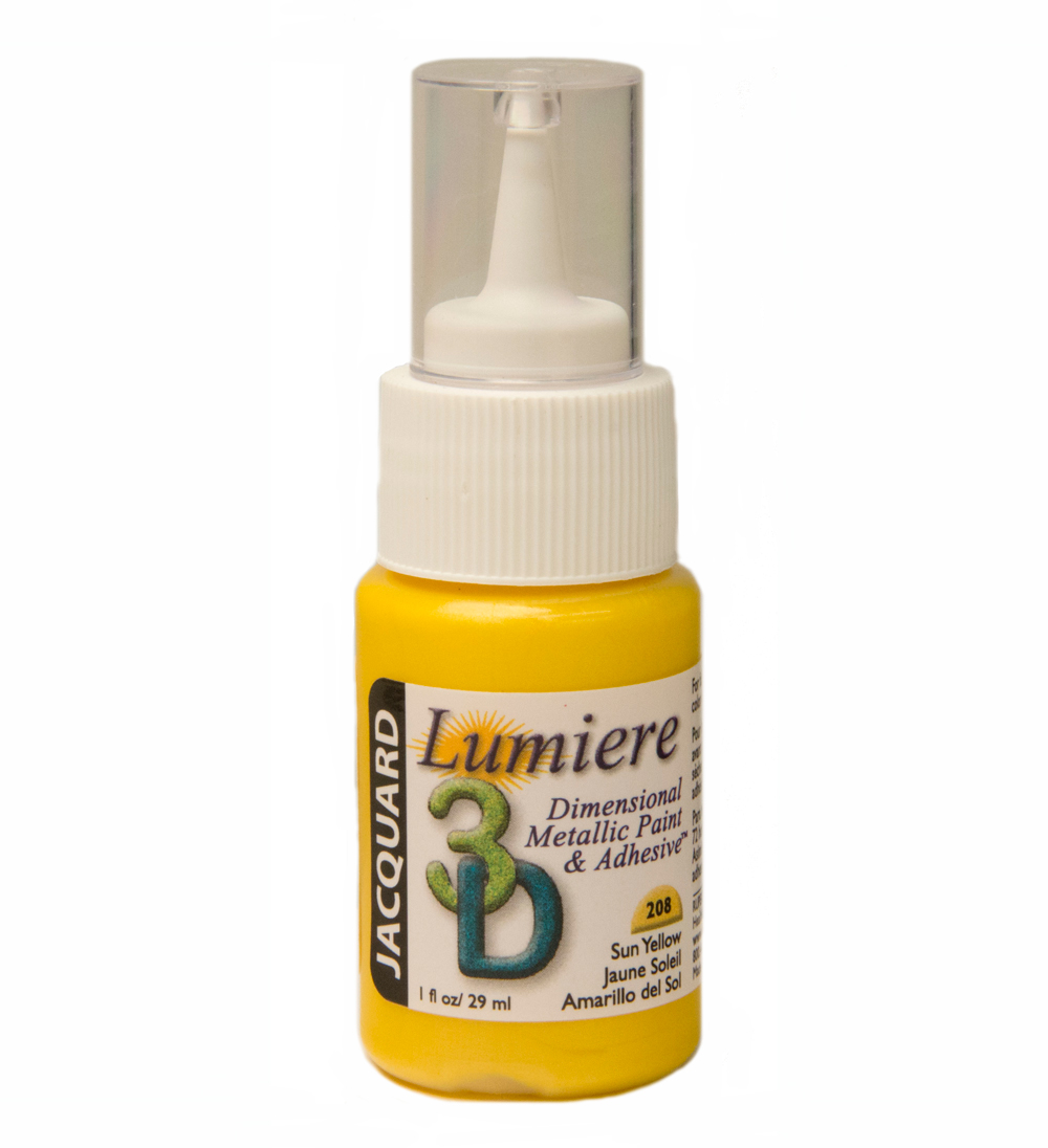 Jacquard Lumiere 3D 1 Oz Sun Yellow