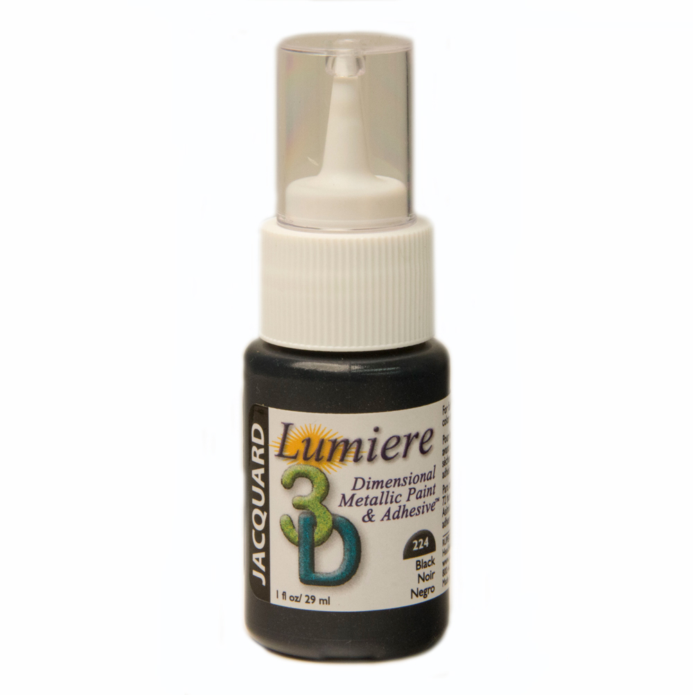Jacquard Lumiere 3D 1 Oz Black