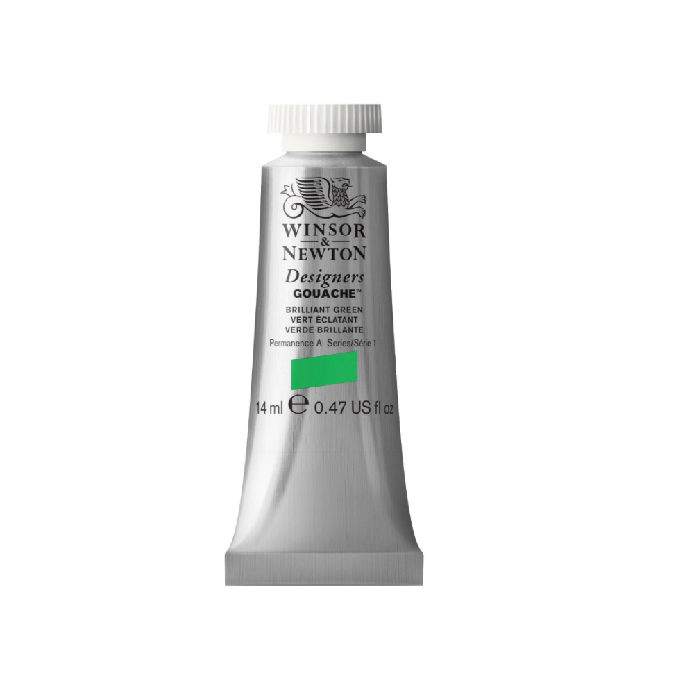 W&N Designers Gouache 14Ml Brilliant Green