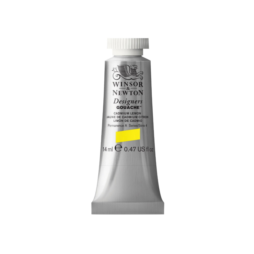 W&N Designers Gouache 14Ml Cadmium Lemon