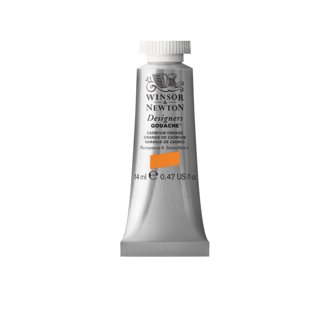W&N Designers Gouache 14Ml Cadmium Orange