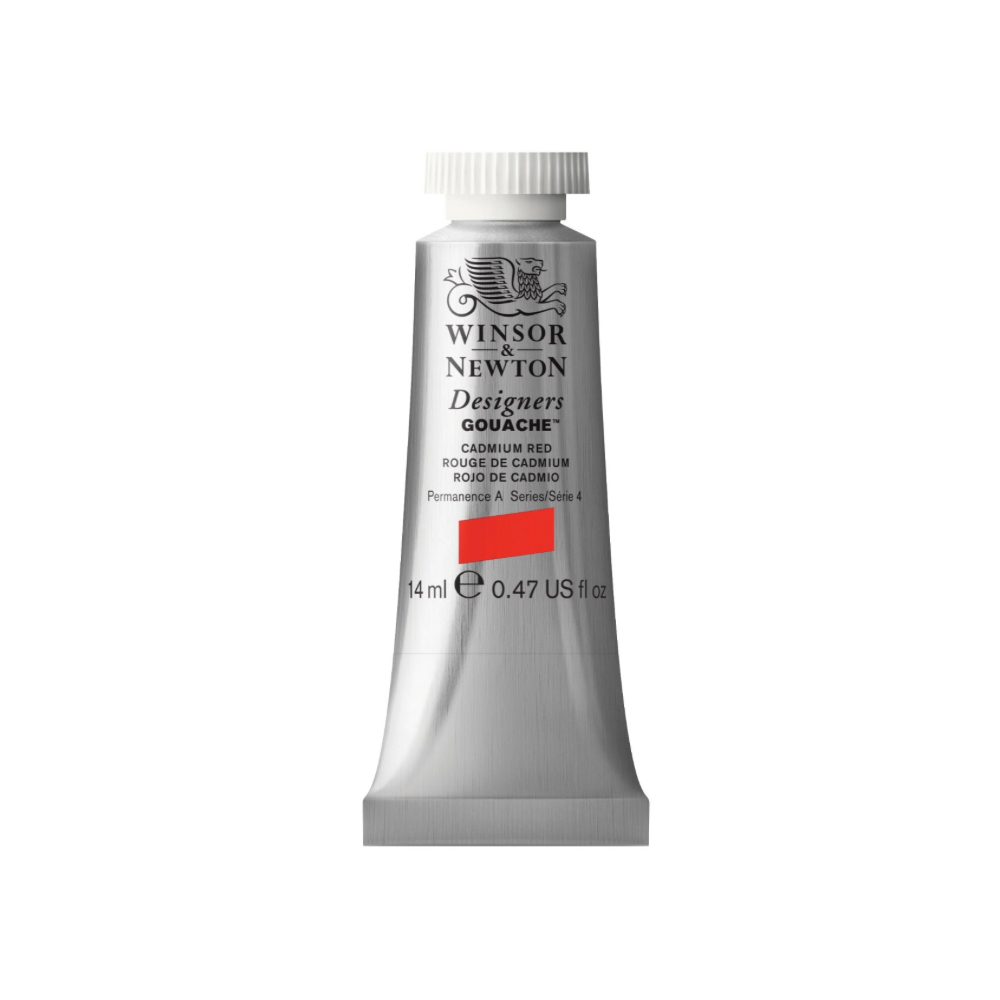 W&N Designers Gouache 14Ml Cadmium Red