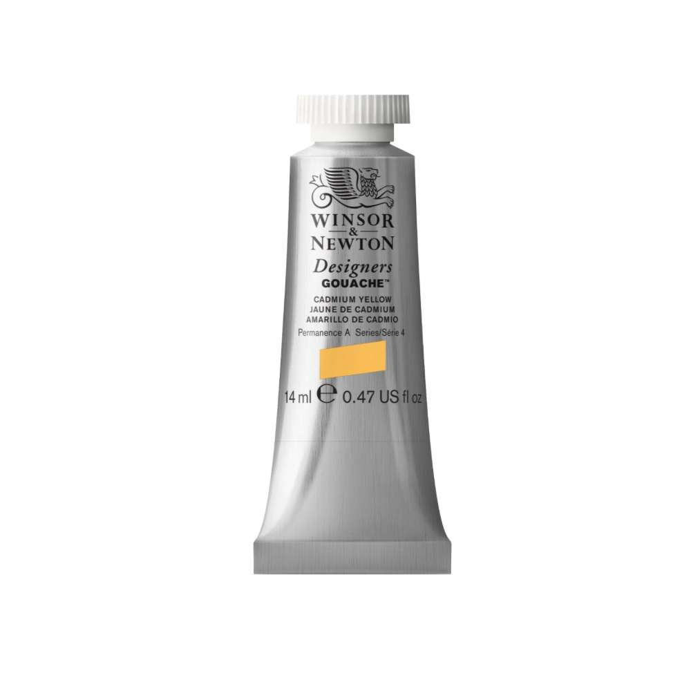 W&N Designers Gouache 14Ml Cadmium Yellow