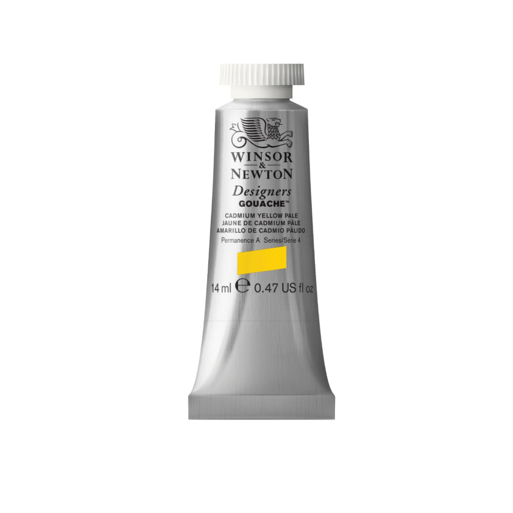W&N Designers Gouache 14Ml Cad Yellow Pale