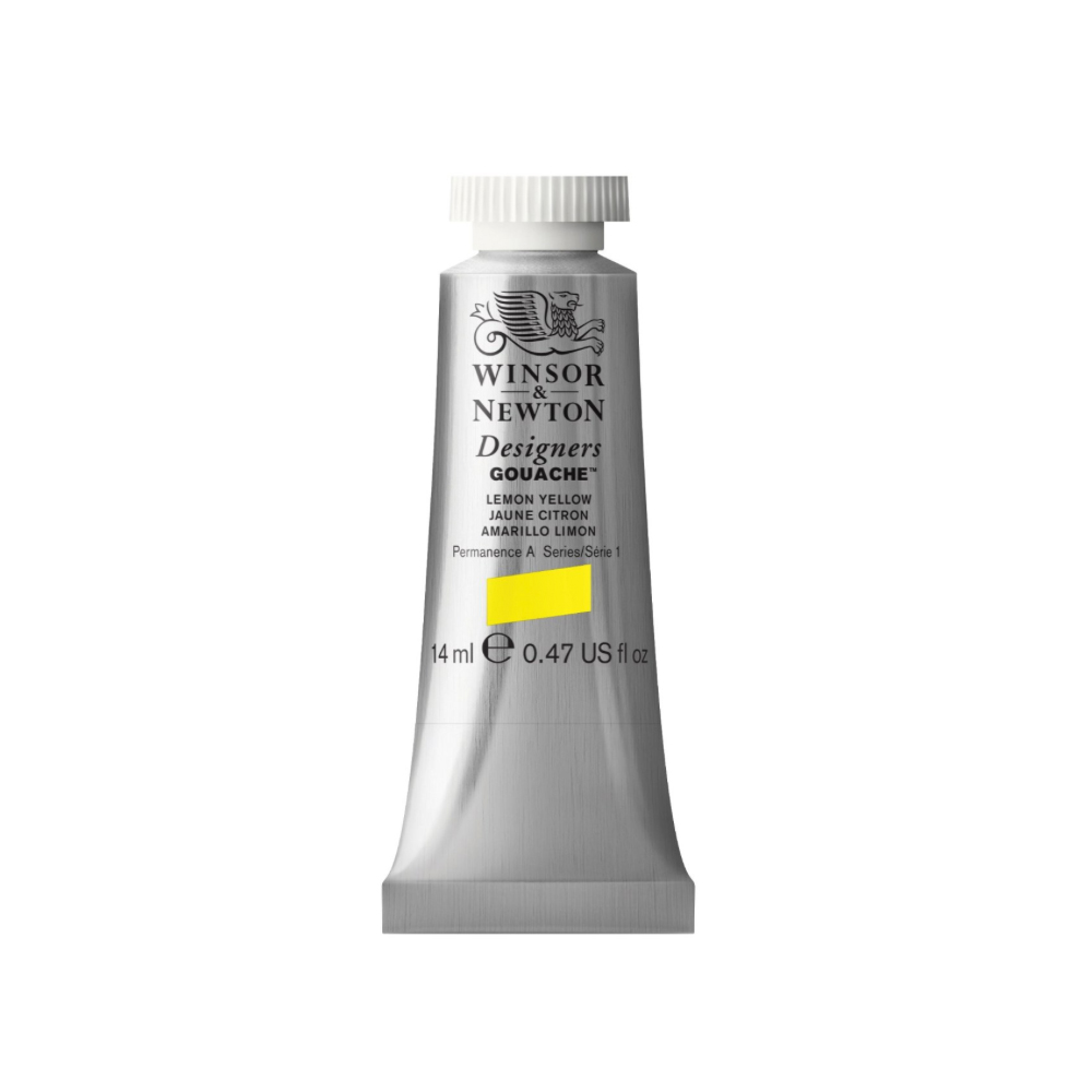 W&N Designers Gouache 14Ml Lemon Yellow