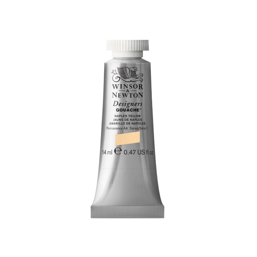 W&N Designers Gouache 14Ml Naples Yellow
