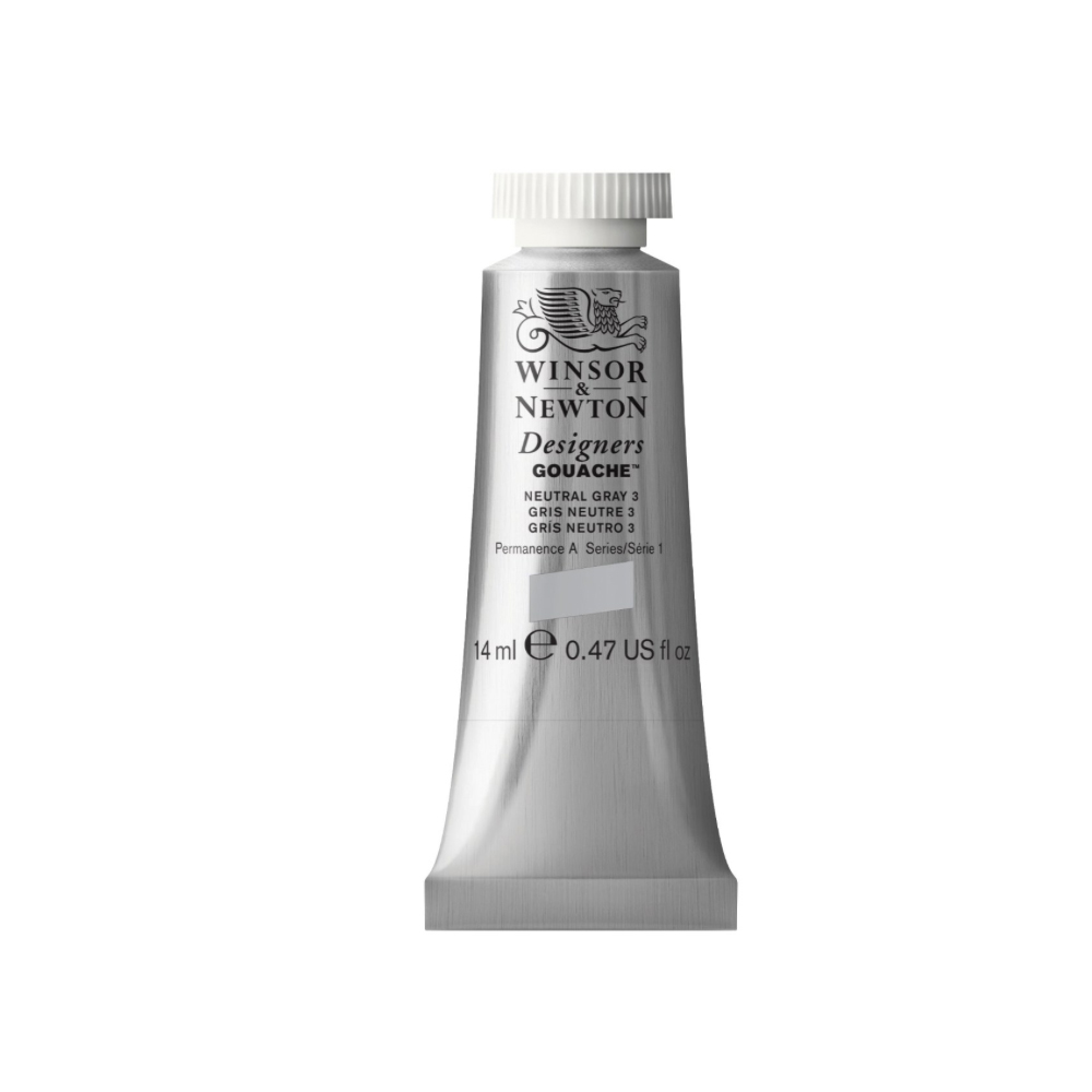 W&N Designers Gouache 14Ml Neutral Grey 3