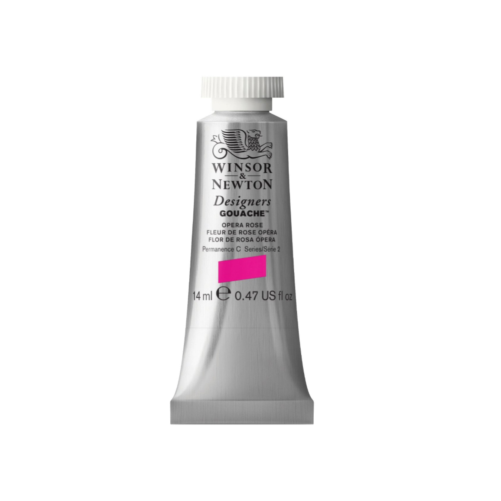 W&N Designers Gouache 14Ml Opera Rose