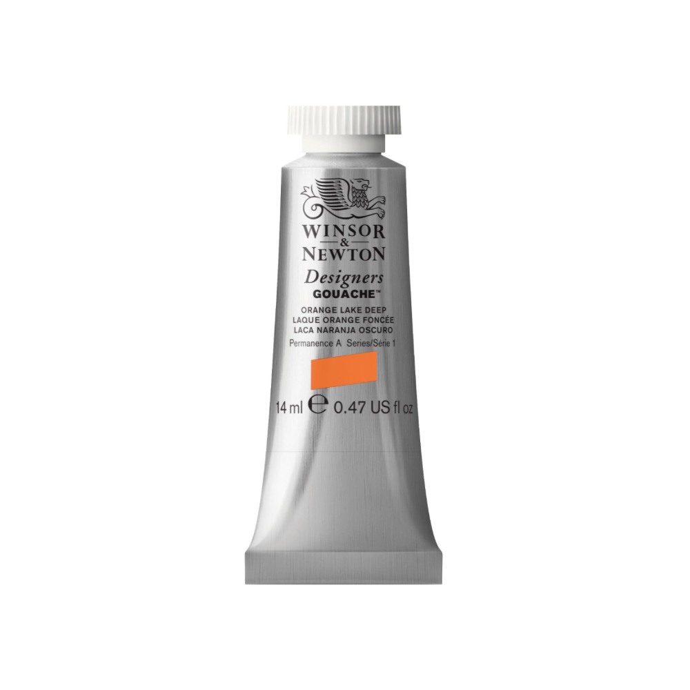 W&N Designers Gouache 14Ml Orange Lake Dp