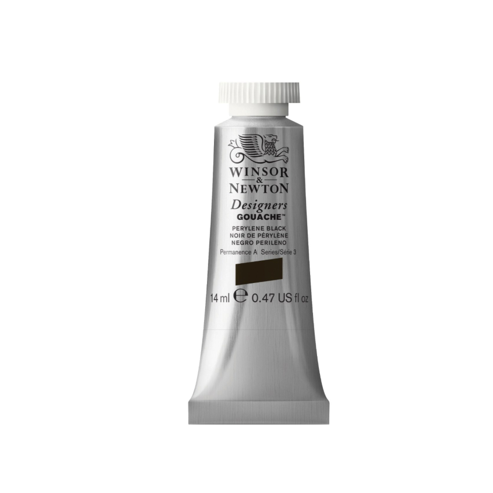 W&N Designers Gouache 14Ml Perylene Black