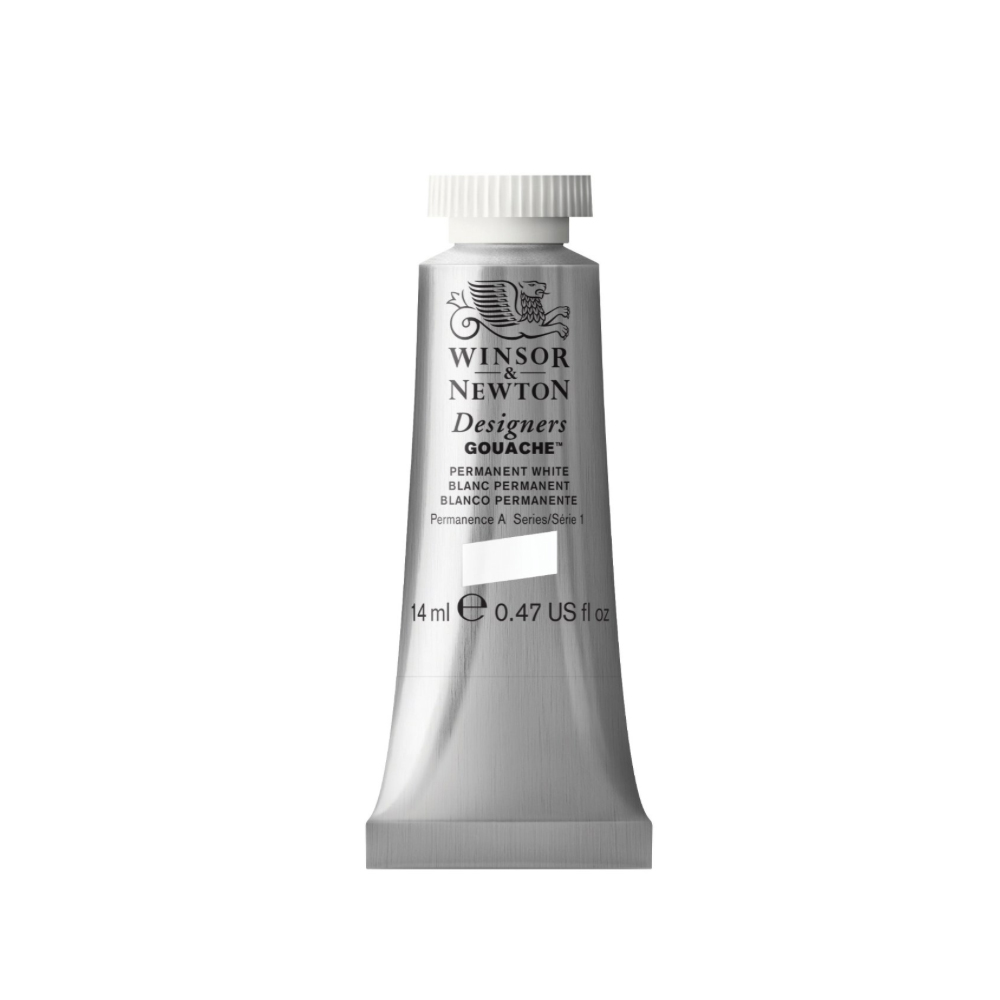 W&N Designers Gouache 37Ml Permanent White