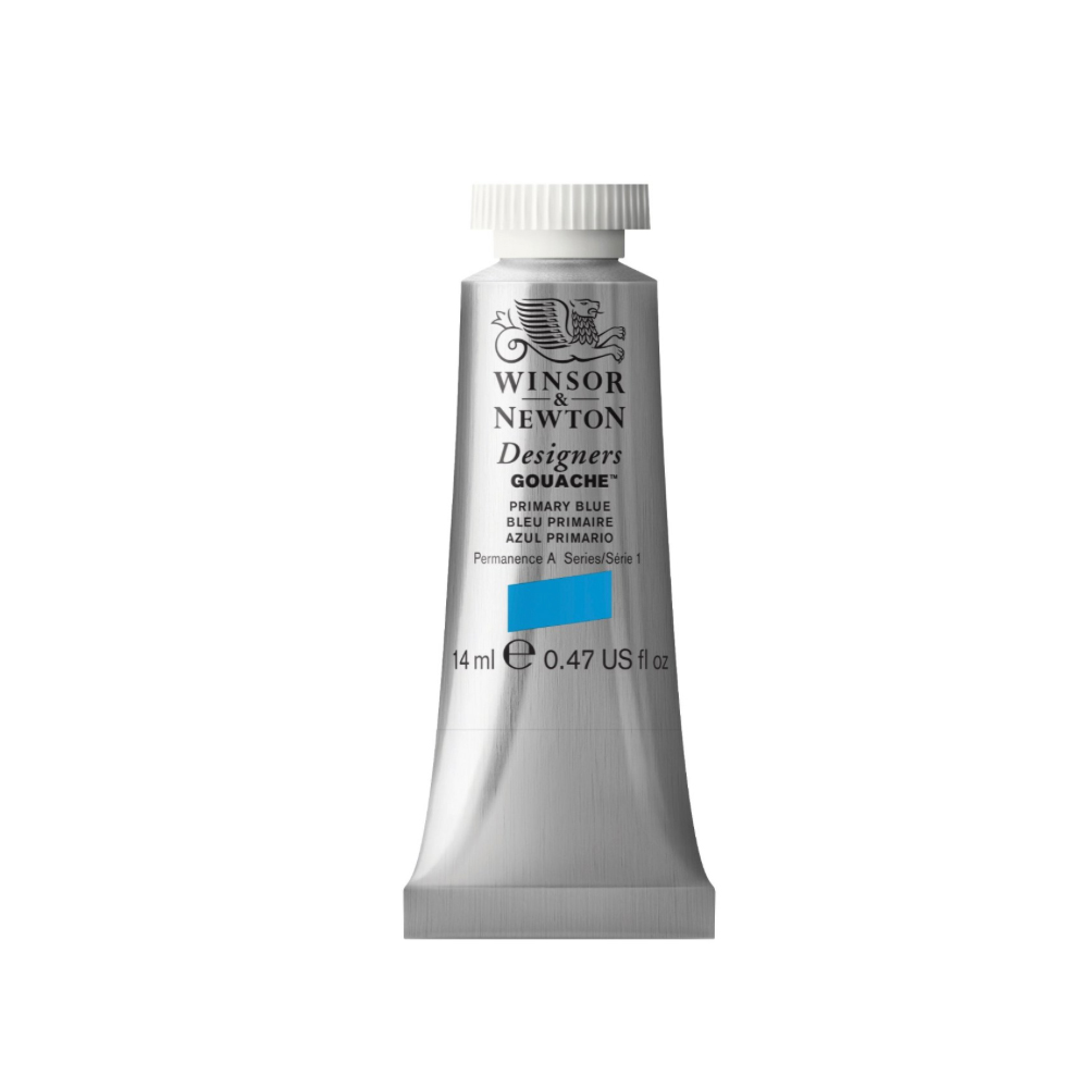 W&N Designers Gouache 14Ml Primary Blue