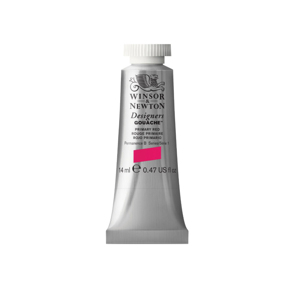 W&N Designers Gouache 14Ml Primary Red