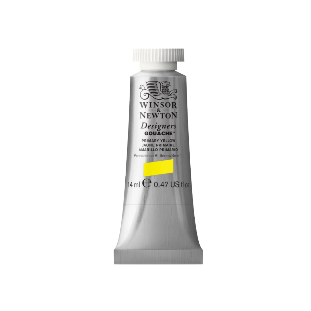W&N Designers Gouache 14Ml Primary Yellow