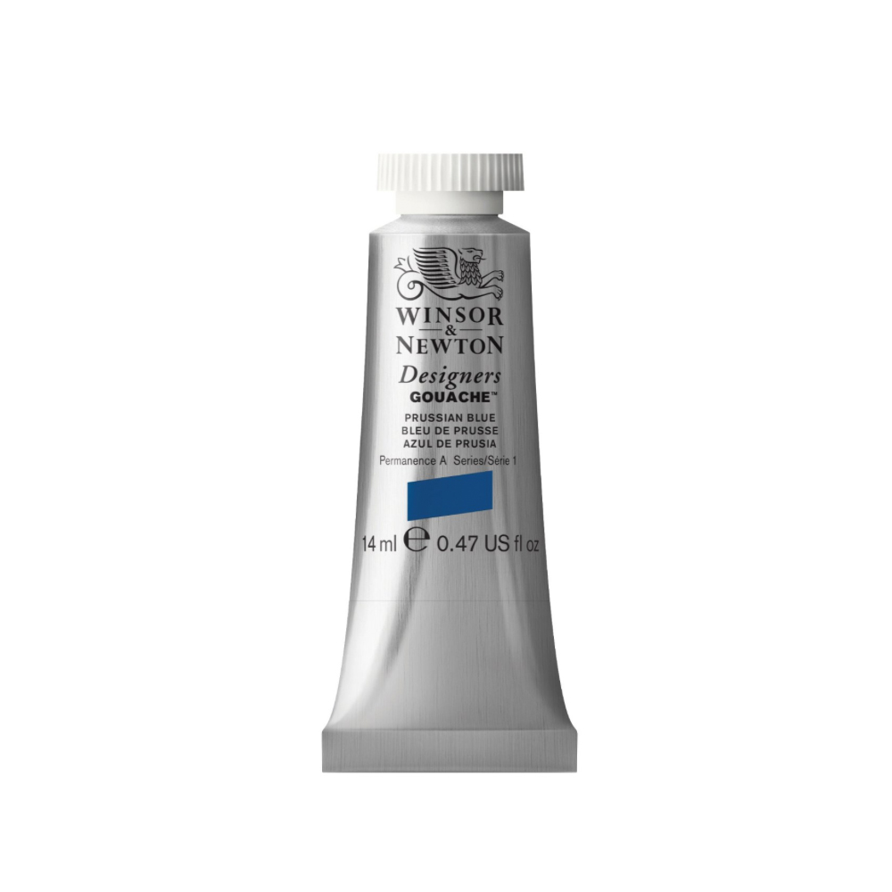 W&N Designers Gouache 14Ml Prussian Blue
