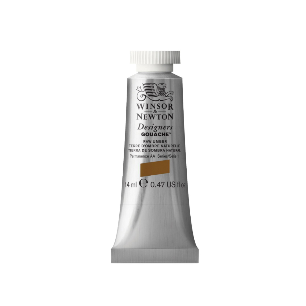 W&N Designers Gouache 14Ml Raw Umber