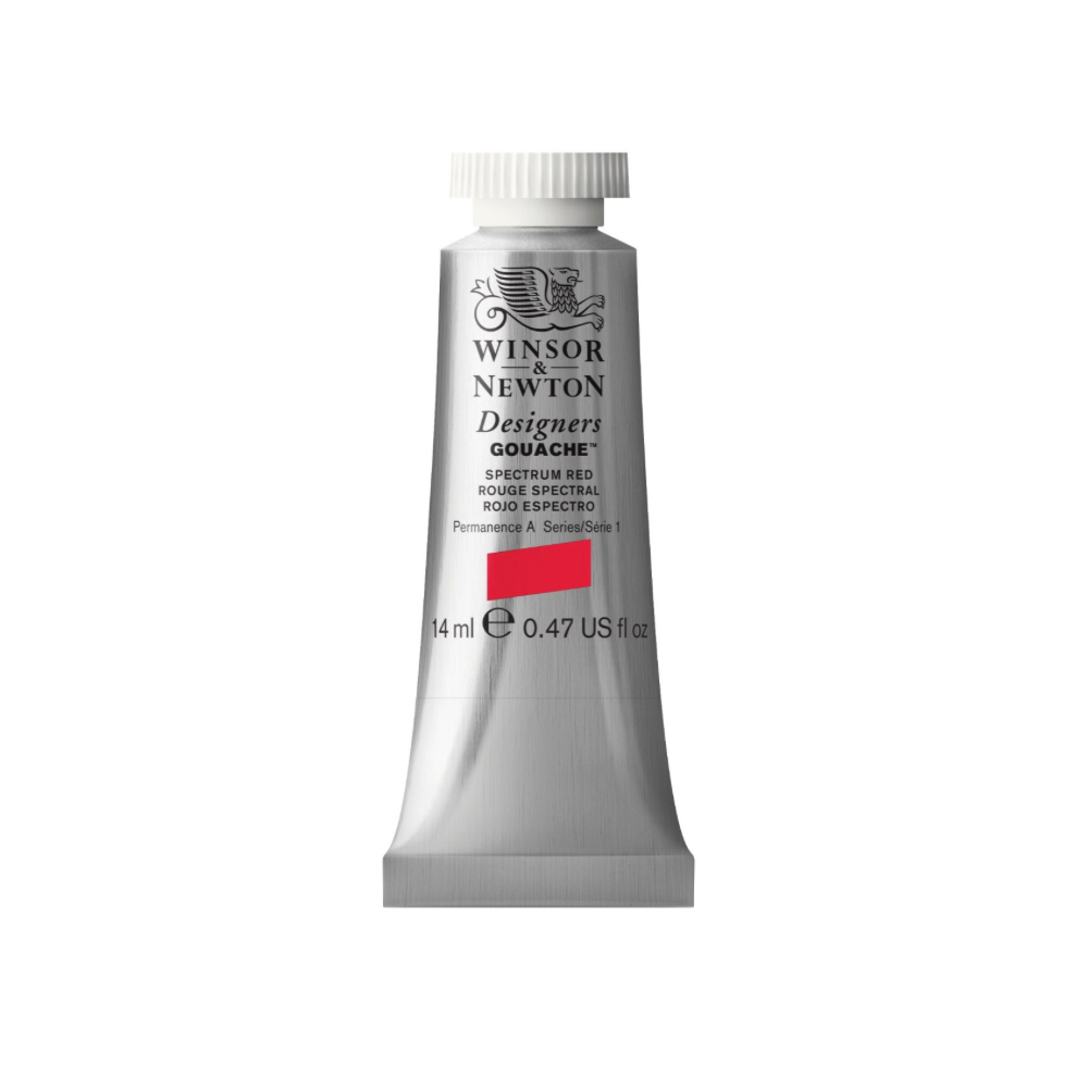 W&N Designers Gouache 14Ml Spectrum Red