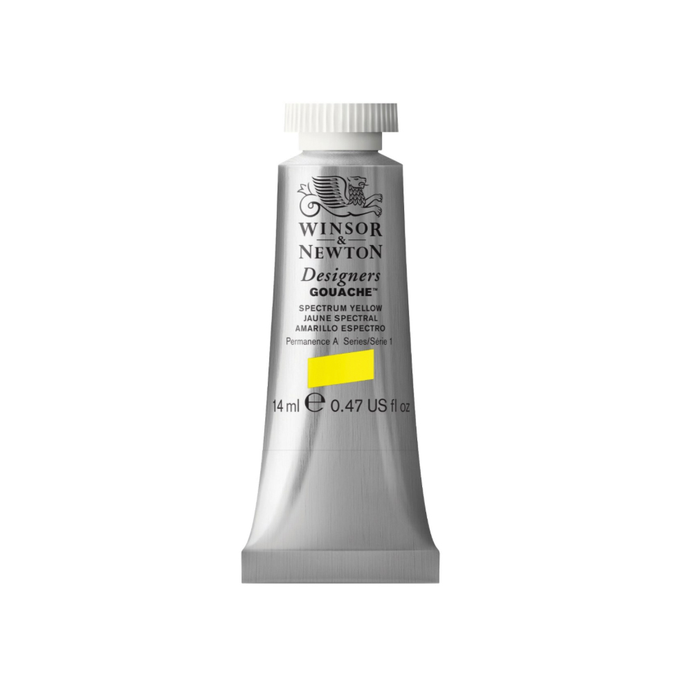 W&N Designers Gouache 14Ml Spectrum Yellow