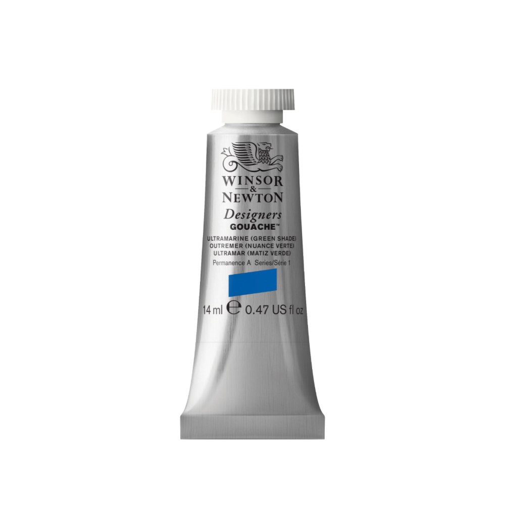 W&N Designers Gouache 14Ml Ultramarine/Green