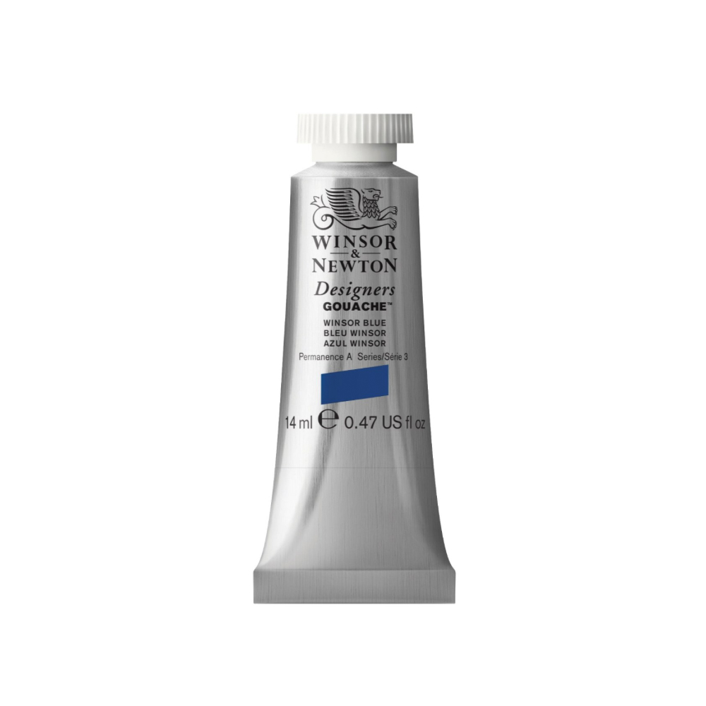 W&N Designers Gouache 14Ml Winsor Blue