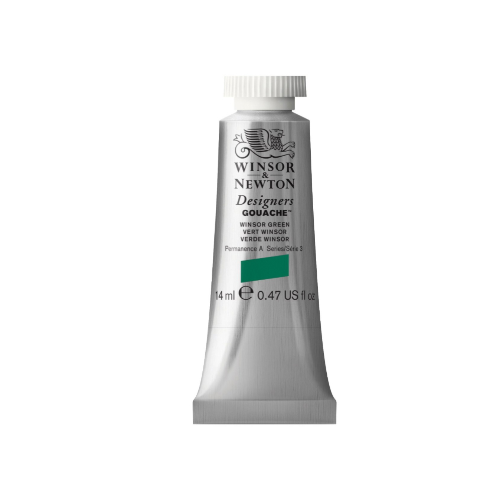 W&N Designers Gouache 14Ml Winsor Green