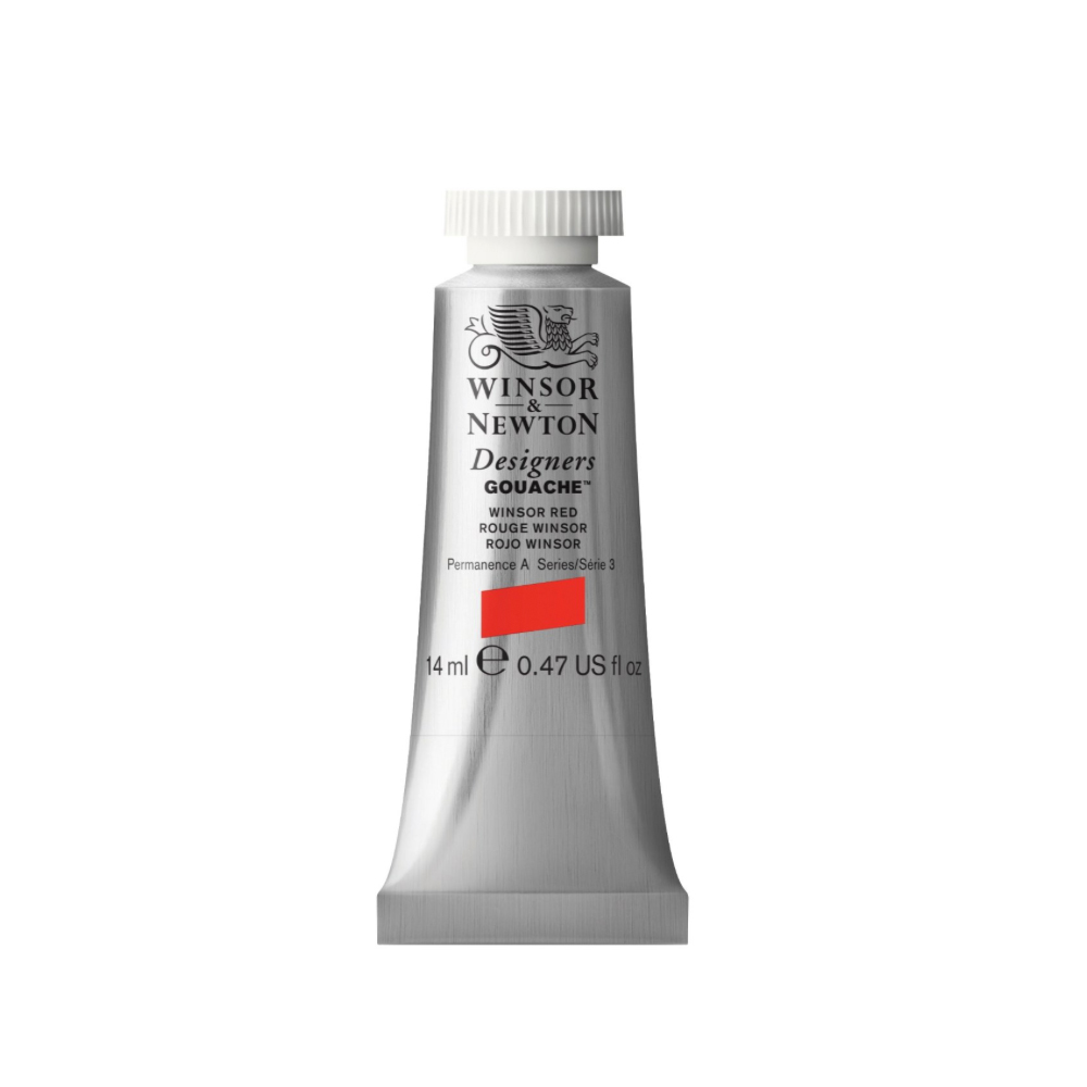 W&N Designers Gouache 14Ml Winsor Red