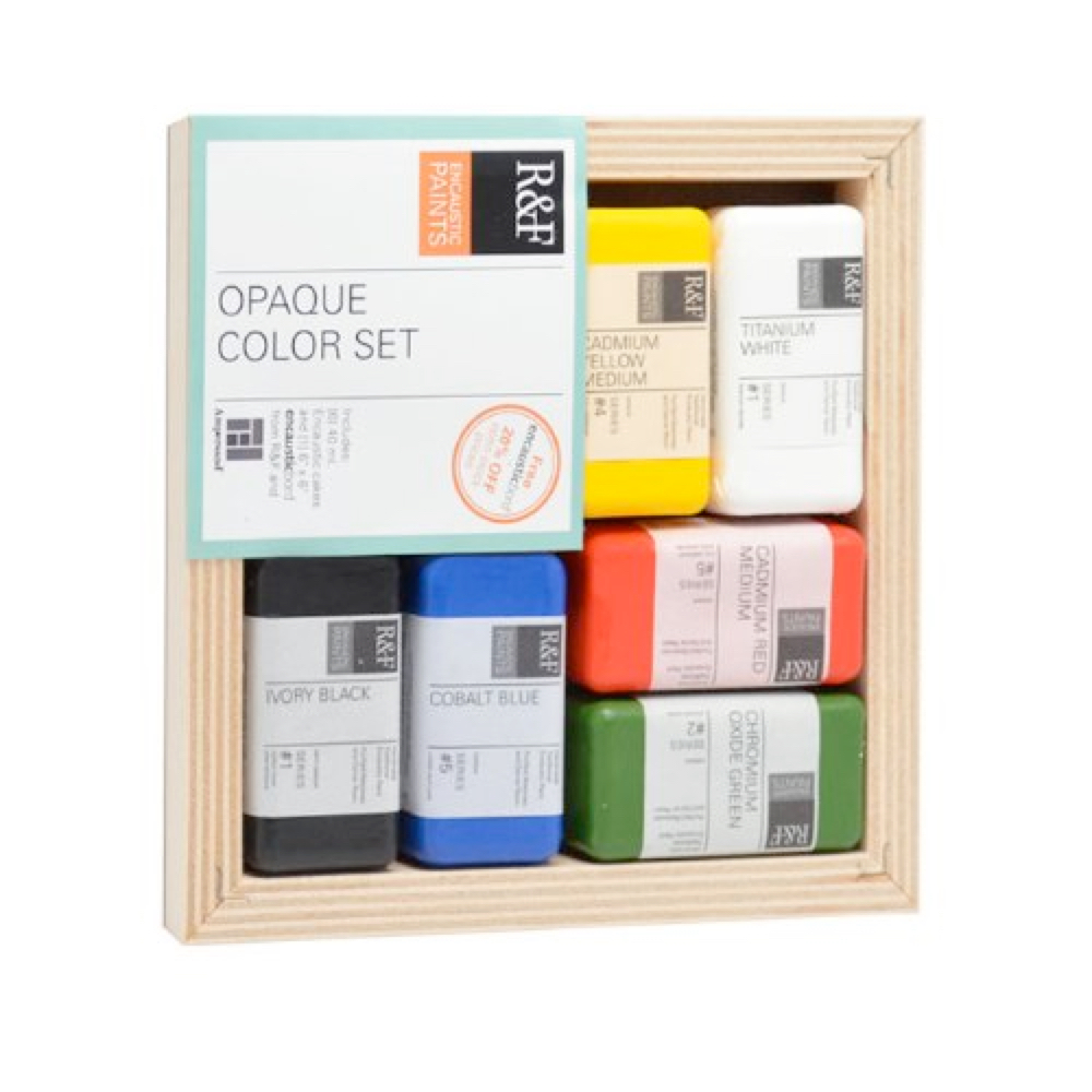 R&F Encaustic Opaque Color Set