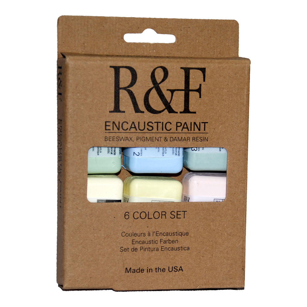 R&F Encaustic Chromatic Tones Color Set