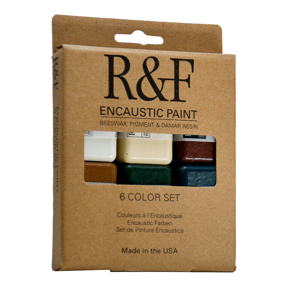 R&F Encaustic Earth Tones Color Set