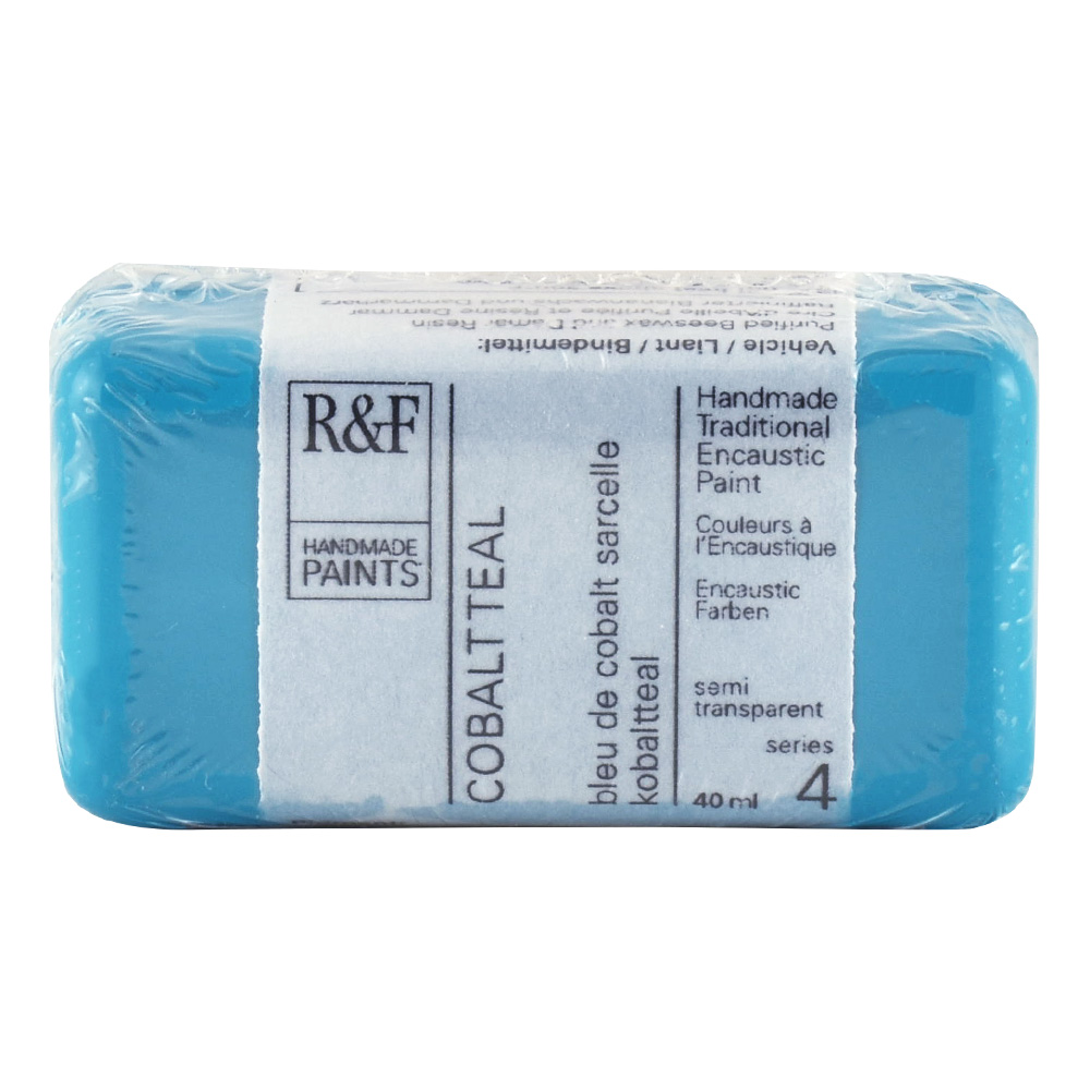 R&F Encaustic 40Ml Cobalt Teal