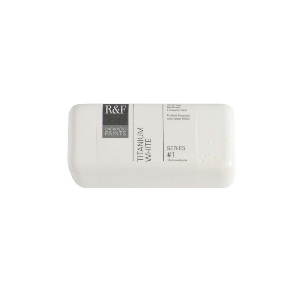 R&F Encaustic 40Ml Titanium White