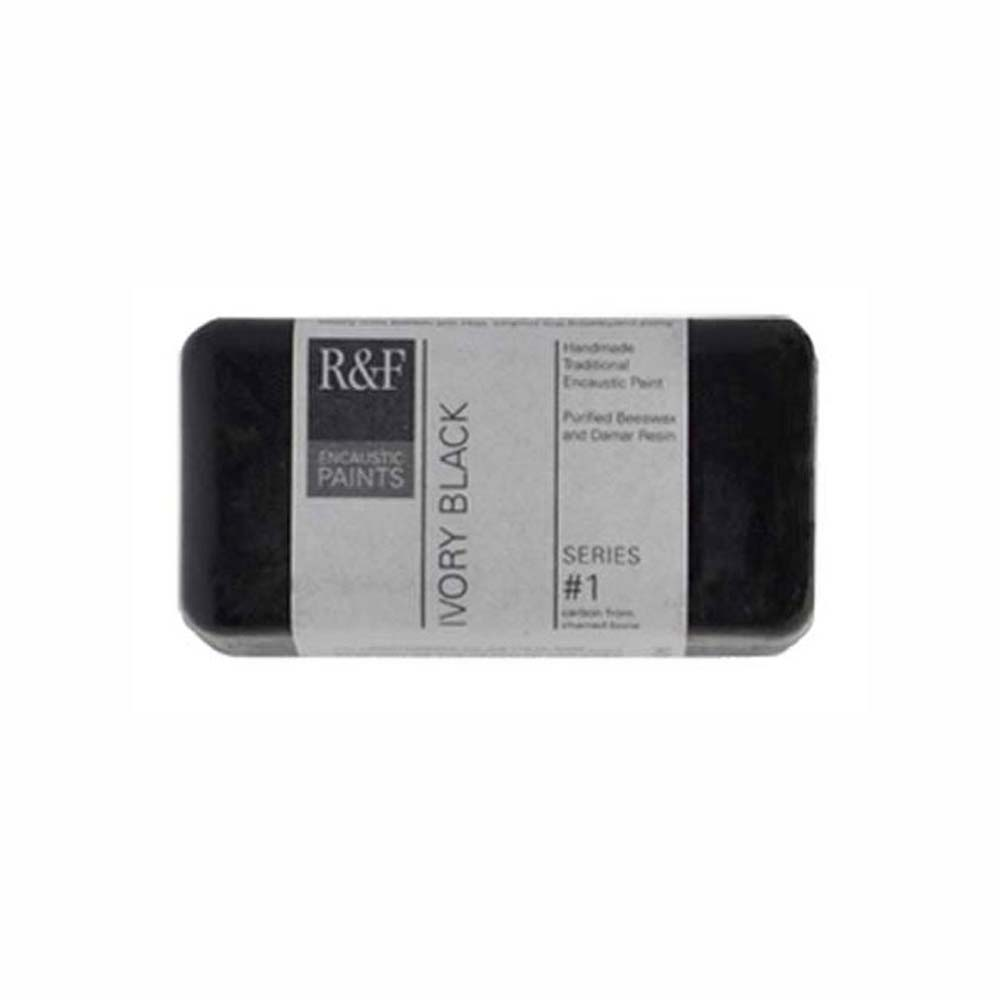 R&F Encaustic 40Ml Ivory Black