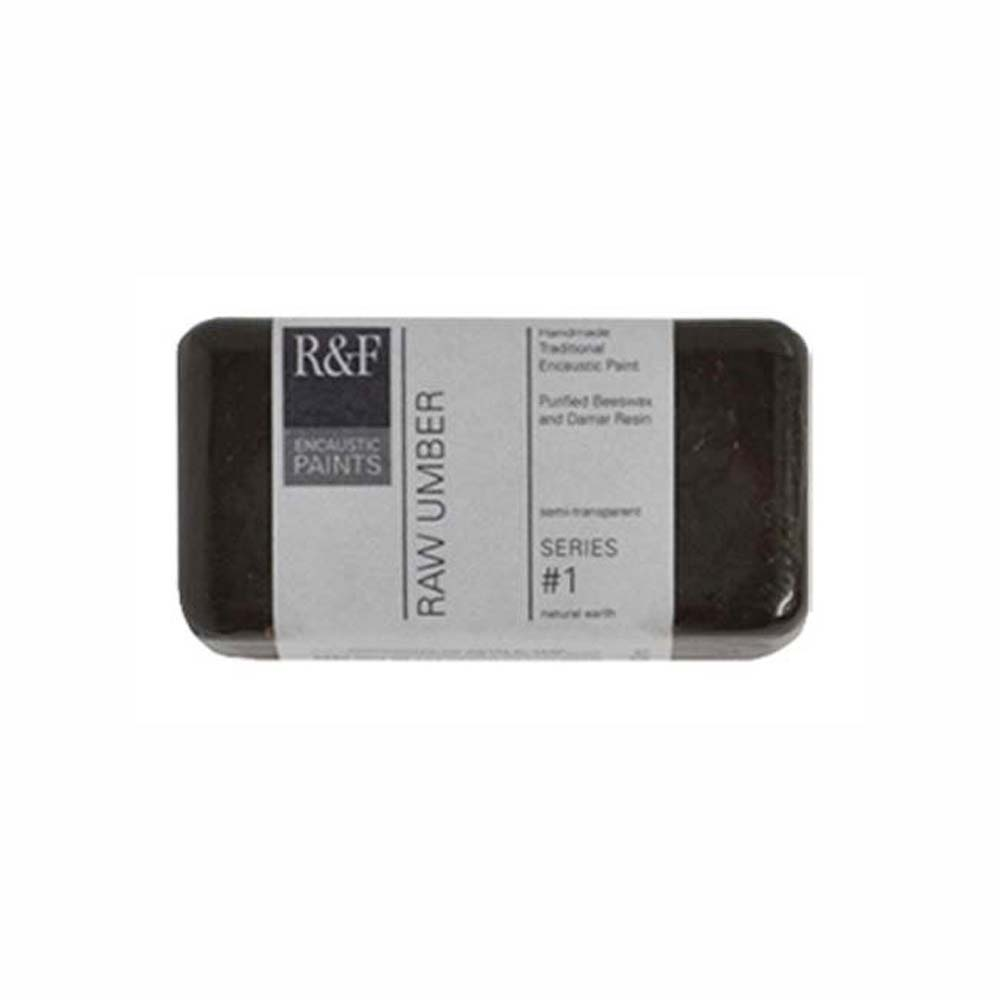 R&F Encaustic 40Ml Raw Umber