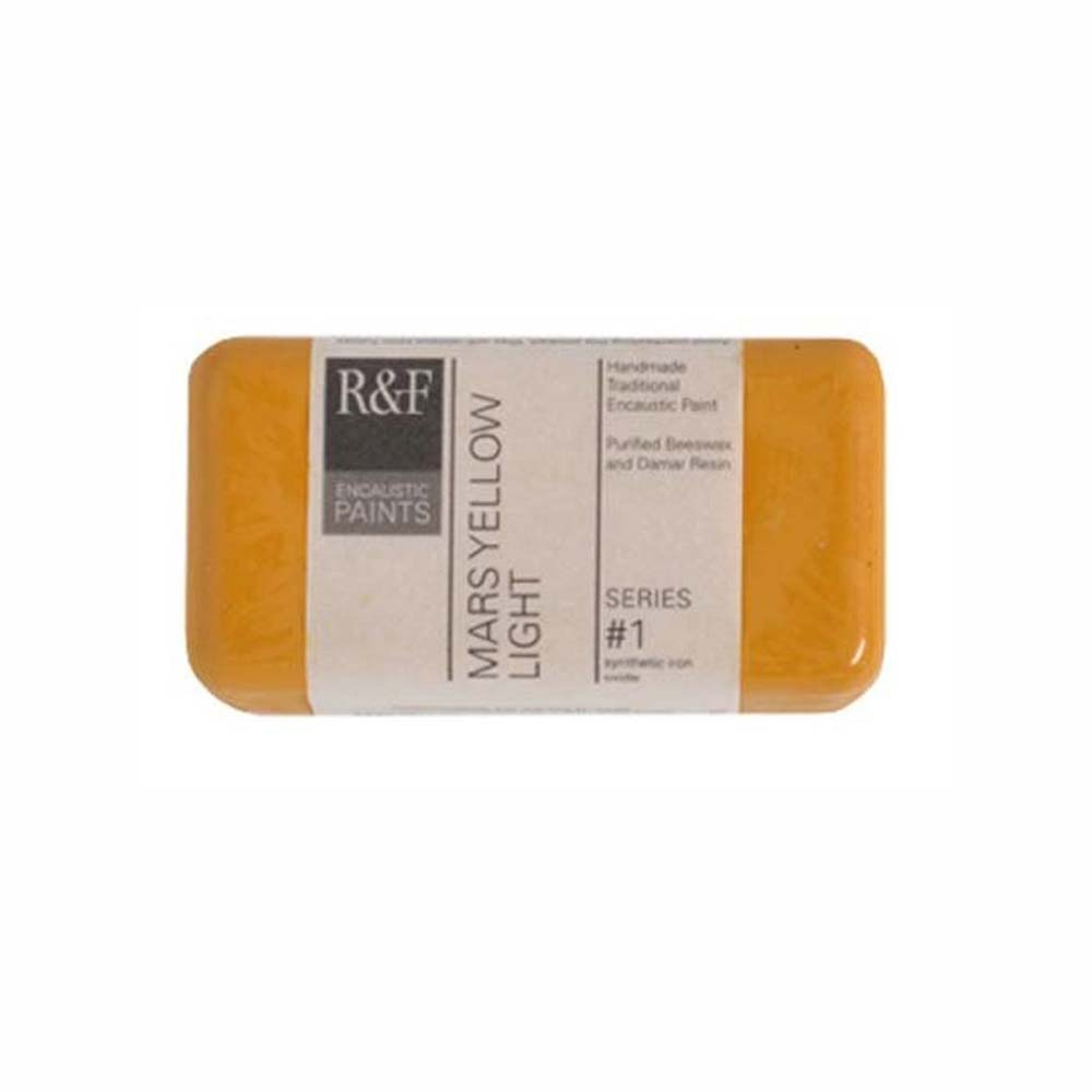 R&F Encaustic 40Ml Mars Yellow Light