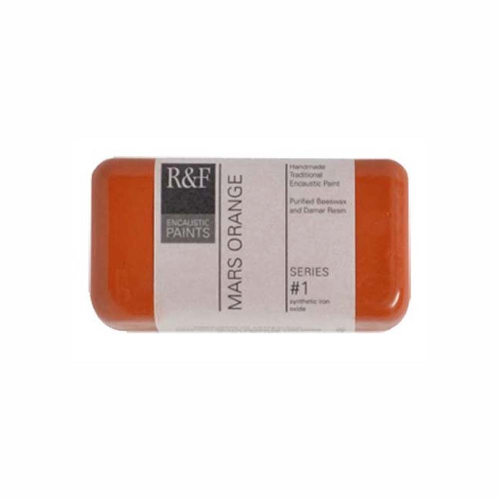 R&F Encaustic 40Ml Mars Orange