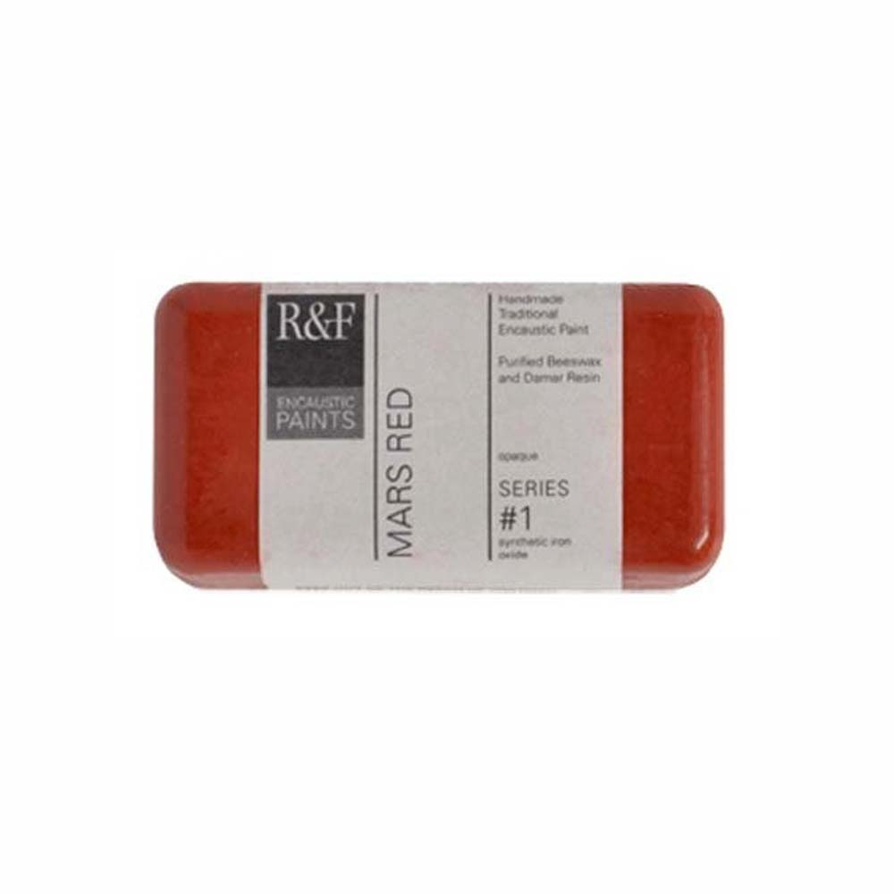 R&F Encaustic 40Ml Mars Red