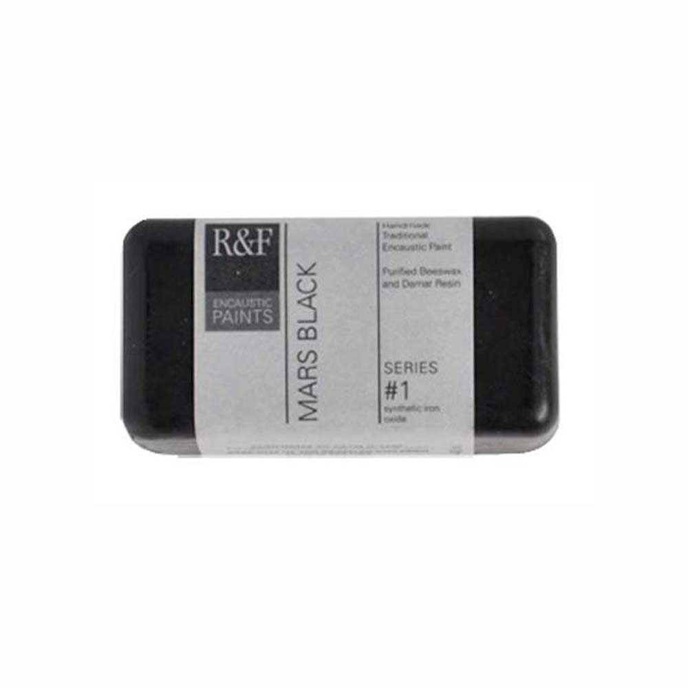 R&F Encaustic 40Ml Mars Black