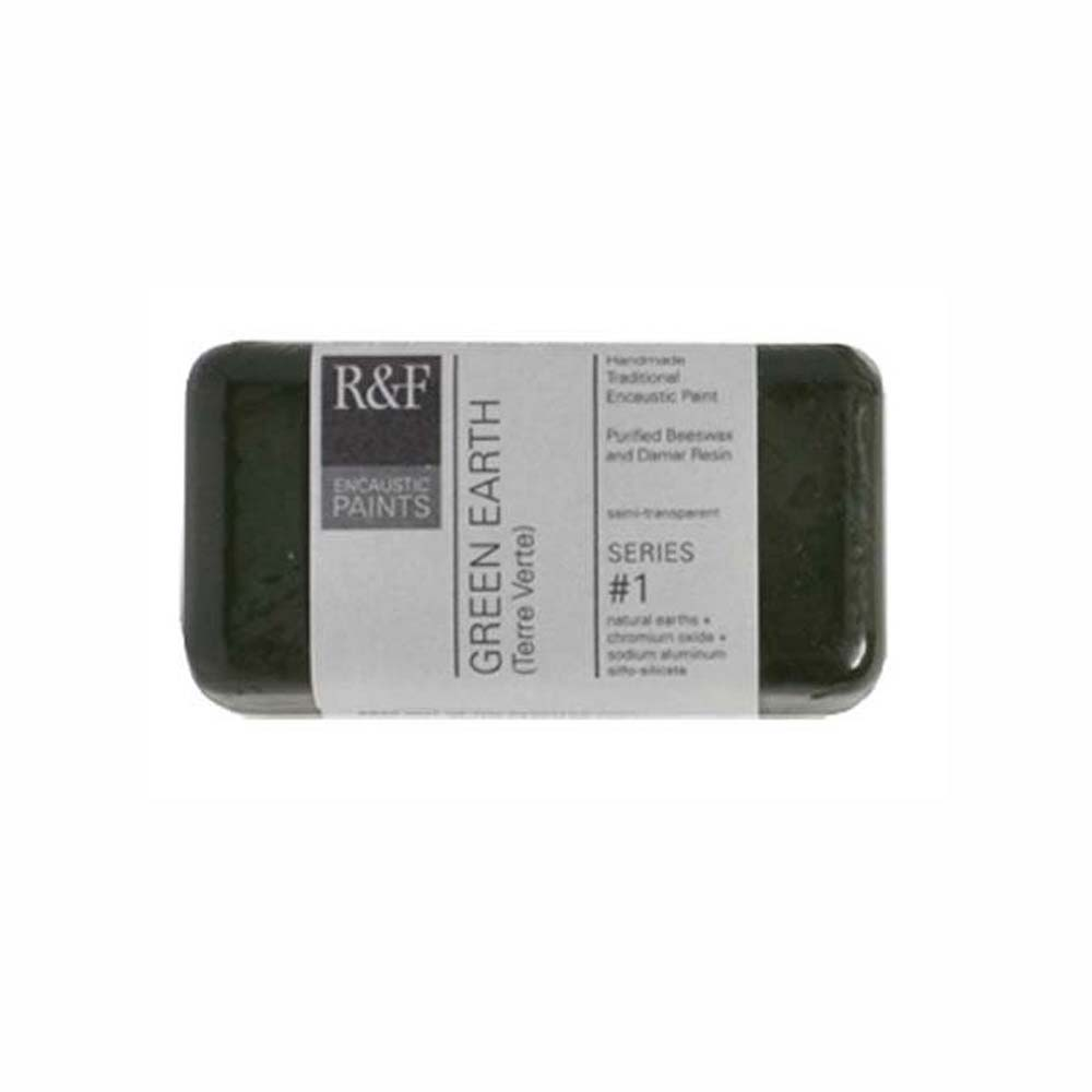 R&F Encaustic 40Ml Green Earth