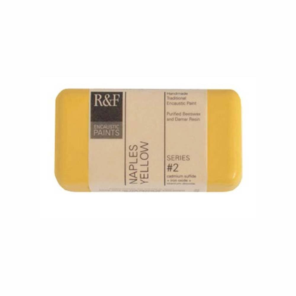 R&F Encaustic 40Ml Naples Yellow