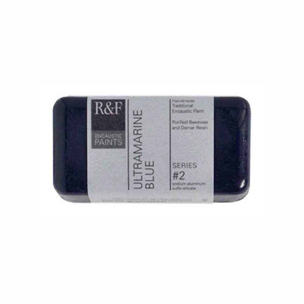 R&F Encaustic 40Ml Ultramarine Blue