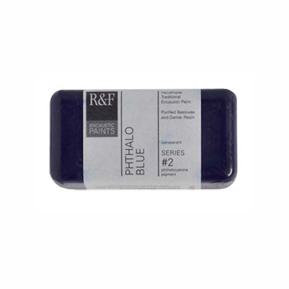 R&F Encaustic 40Ml Phthalo Blue