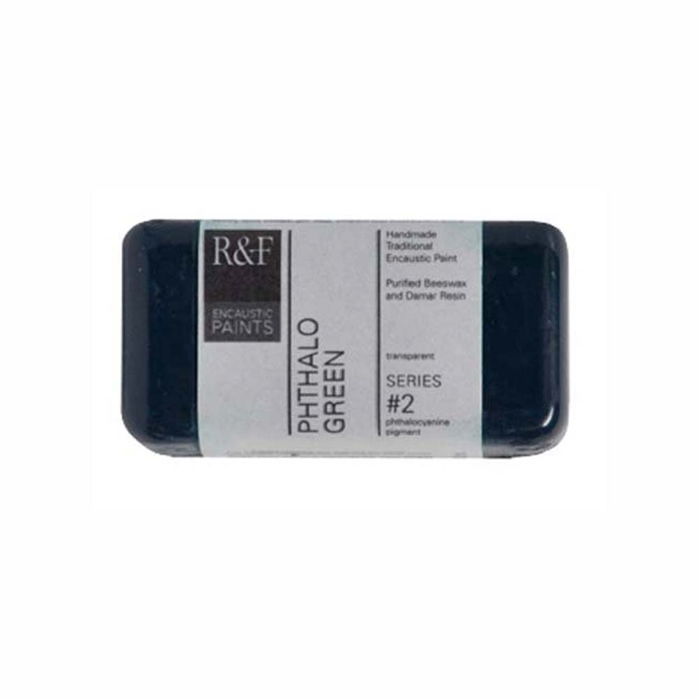 R&F Encaustic 40Ml Phthalo Green